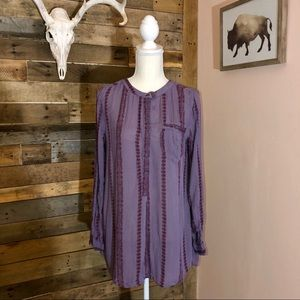 Free People tunic style blouse